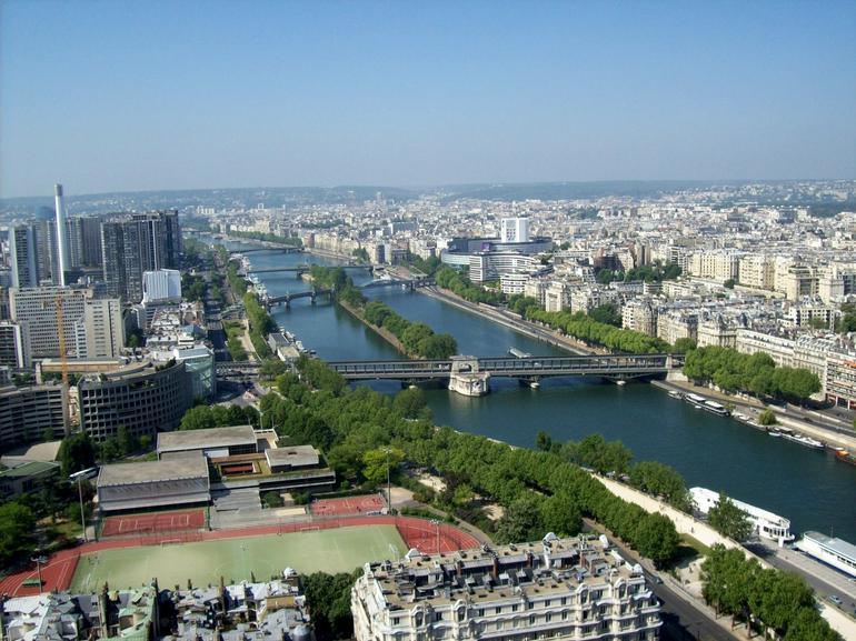 View from the Eiffel Tower Ovservation Level - Paris