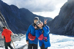 Just landed the glacier! , Viggy - July 2013