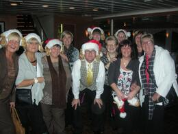 We had our annual trip to New York. This was taken at the end of the night of the dinner cruise with the D.J. As you can see, we had a magic night and will have great memories of it. In the photo ... , Norman F - December 2008