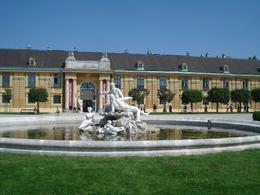 Schonbrunn Palace is huge. It has many beautiful sights to see, among them their fountains., David F - July 2010