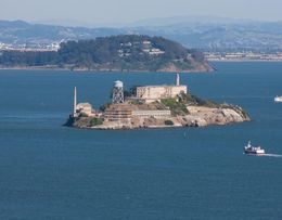 Great way view of Alcatraz. , Eric V Tyler T - May 2015