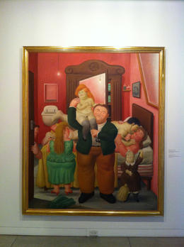 Botero's portrayal of the typical Colombian family., Bandit - September 2012