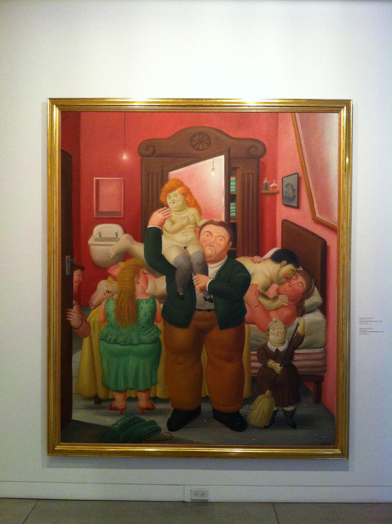 Botero_Colombian Family - Medell�n