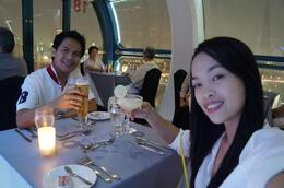 Photo of Singapore Singapore Flyer Sky Dining cheers!