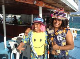 Photo of Cancun Sightseeing, Snorkeling and Dancing Catamaran Cruise from Cancun Dancer crew