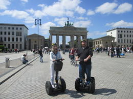 After being somewhat nervous about riding Segway's for the first time, my wife and I were at easy in minutes. , gregory c - June 2014