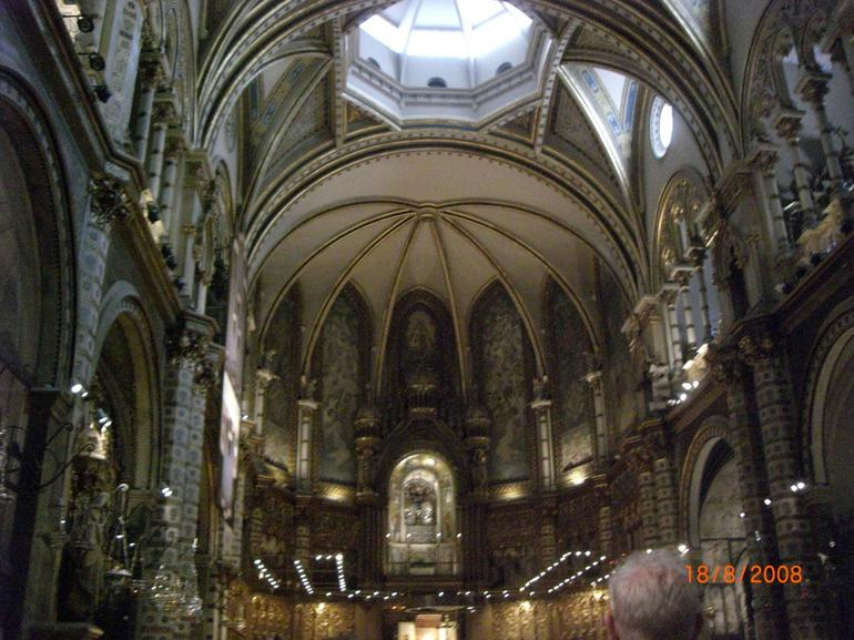Inside the Church - Barcelona
