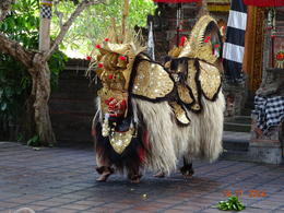 typical Barong Dance , satish chandra - November 2014