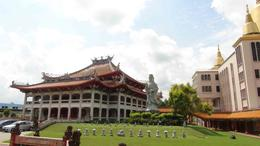 Some of the buildings of the Kong Meng San Phor Kark See Monastery - a real highlight of the tour - a must see! , George H - November 2013