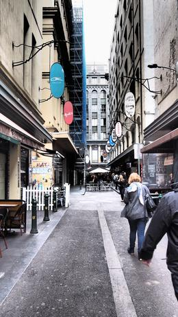 Photo of   Laneway in Melbourne