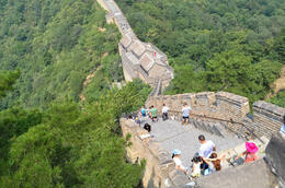 Photo of Beijing Great Wall of China at Mutianyu Full Day Tour including Lunch from Beijing Looking Down
