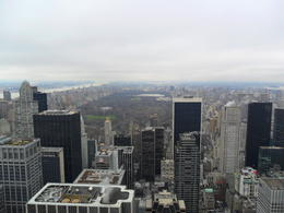 Photo of New York City Top of the Rock Observation Deck, New York Looking towards Central Park