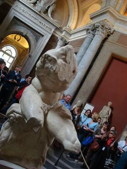 Photo of Rome Skip the Line Private Tour: Vatican Museums Walking Tour The Belvedere Torso, Vatican Museums
