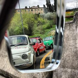 Photo of Florence Self-Drive Vintage Fiat 500 Tour from Florence: Tuscan Hills and Italian Cuisine The Fiat brigade!