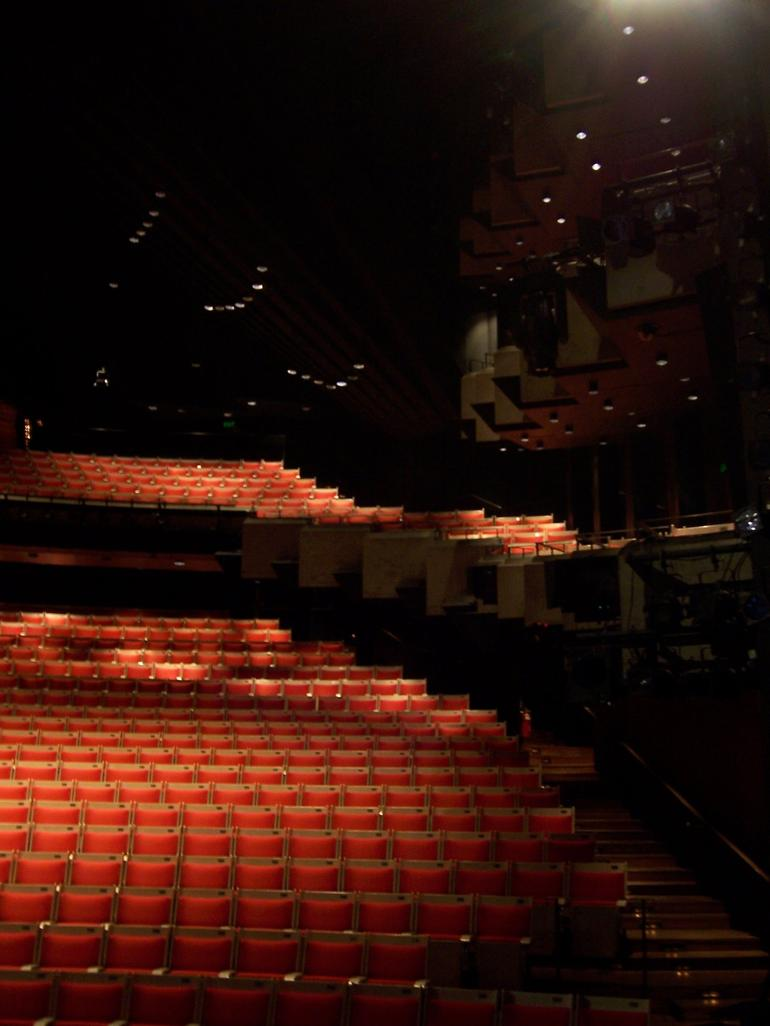 The right side of the Opera Hall at the Sydney Opera House - Sydney