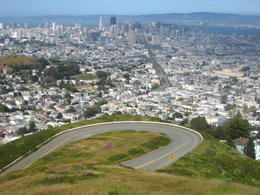 Photo of San Francisco San Francisco Deluxe City Tour, Muir Woods and Sausalito Day Trip Twin Peaks