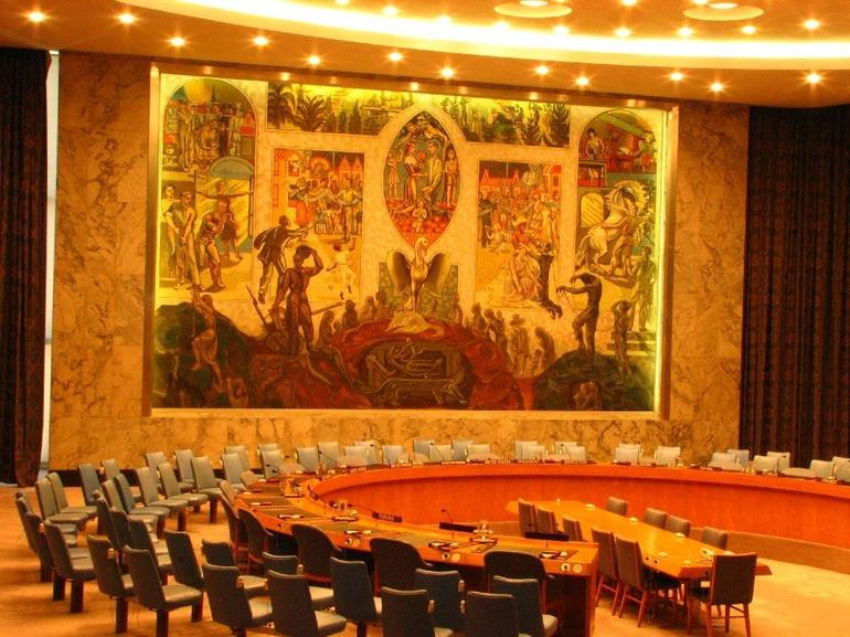 United Nations Security Council Hall - New York City