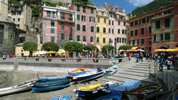 Photo of Florence Cinque Terre Hiking Day Trip from Florence Vernazza - from the Gelatoria