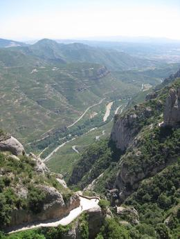 Photo of Barcelona Montserrat and Cava Trail Small Group Day Trip from Barcelona View from Montserrat