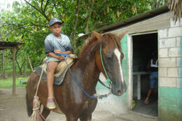 Photo of Punta Cana Dominican Republic Mega Truck Safari Village child, Dominican countryside outside Punta Cana
