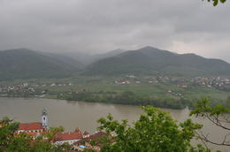 View of the River Danube , Casey W - June 2013