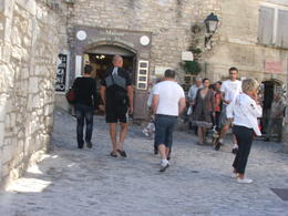 Photo of Avignon Rhone Valley Wine Tour from Avignon: Chateauneuf-du-Pape and Tavel A street in Les Baux