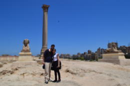 Photo of Cairo Private Tour: Alexandria Day Trip from Cairo At pompey's pillar
