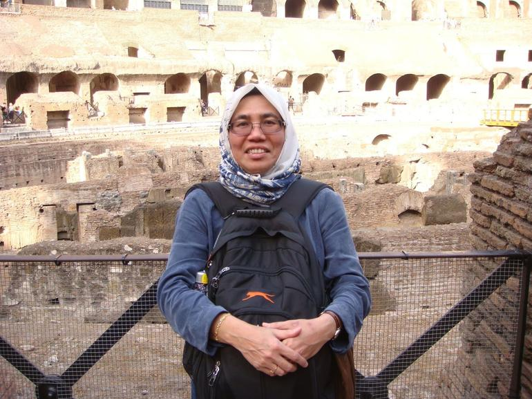 At the Colosseum - Rome