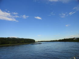 Rhine under the blue sky , Joy - May 2012