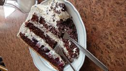 Tried the black forest cake and it is full of rum or alcohol taste. it was great!! , nanny - August 2014