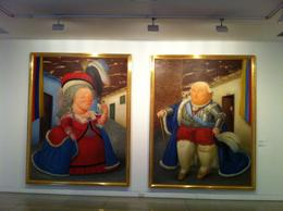 The man and woman of the Colombian upper class, as seen by Botero., Bandit - September 2012