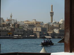 We went from the cosmopolitan side of Dubai to across the creek aboard an and quot;abra and quot; to visit the gold and spice souks. Our driver met us across the creek and walked us through the..., Kylie W - October 2014
