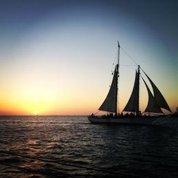 Photo of Key West Tall Ship Sunset Cruise in Key West End of day tall ship cruise