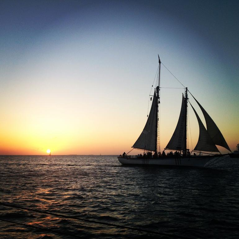 End of day tall ship cruise - Key West