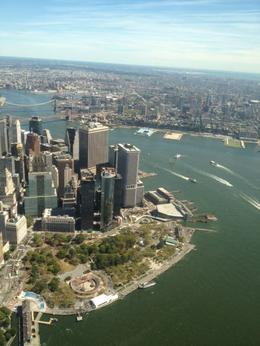 Photo of New York City Manhattan Sky Tour: New York Helicopter Flight Financial District from above