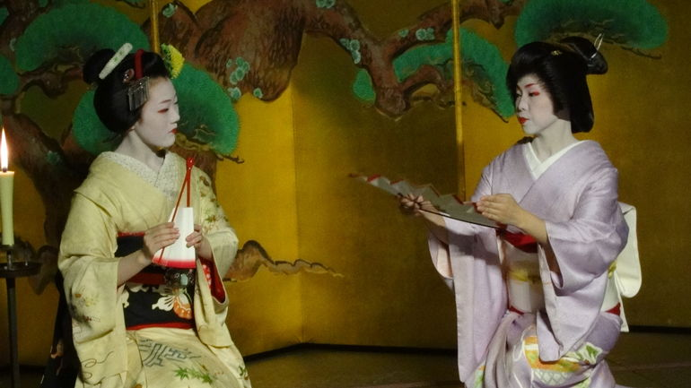 Geiko and Maiko dances