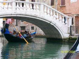 Venice waterway in the gondola., Basab D - August 2008