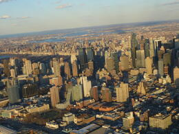 Photo of New York City Viator VIP: NYC Night Helicopter Flight and Statue of Liberty Cruise Manhattan from above.