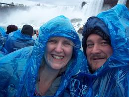 Preparing for a drenching on the Maid in the Mist , Nic G - May 2012