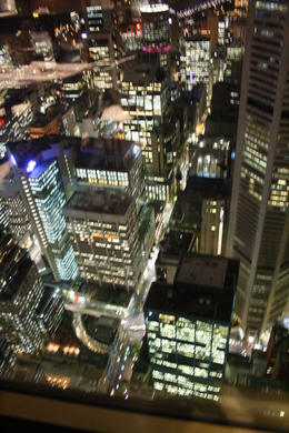 Photo of Sydney Sydney Tower Restaurant Buffet Night time over Sydney (2)