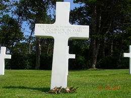 Photo of Bayeux Normandy Beaches Half-Day Trip from Bayeux One of many unknown soldier graves