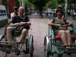 Photo of Ho Chi Minh City Ho Chi Minh Cyclo and Walking Small Group Adventure Tour P8270032 - Copy