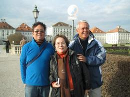 me and my parents. we stopped by the palace complex. view around the complex was very nice , Vic - December 2012
