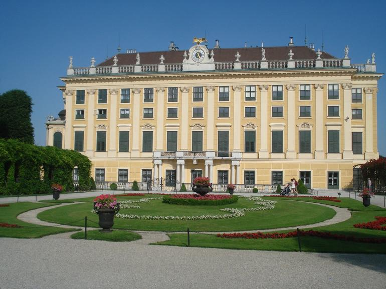 Photo of a small part of Schonbrunn Palace - Vienna
