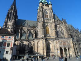Photo of Prague Prague Castle Walking Tour Prague Cathedral from outside