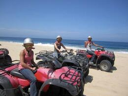 Photo of Los Cabos Los Cabos ATV Adventure Riding through the sand