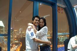 Photo of Singapore Singapore Flyer Sky Dining romantic moment