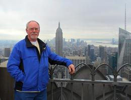 Photo of New York City Top of the Rock Observation Deck, New York That's me,,,,,,,