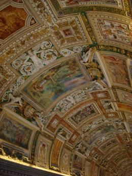 Photo of Rome Skip the Line Private Tour: Vatican Museums Walking Tour The ceiling
