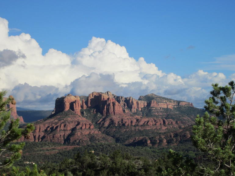 The Red Rocks of Sedona were absolutely beautiful and captivating! - Phoenix